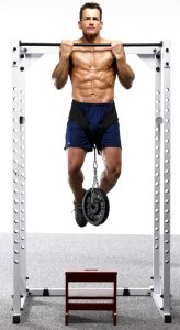 Pull-ups w. weighted plates